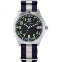 Orologio da Uomo Smart Turnout Military Watch Yale University STA/56/W-YALE