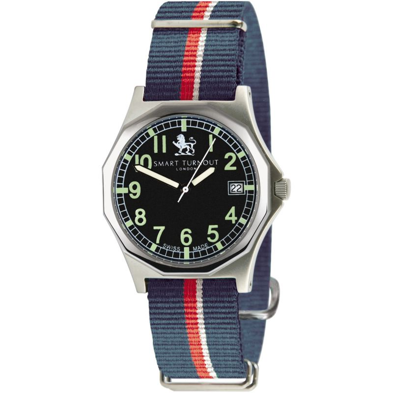 Mens Smart Turnout Military Watch Royal Navy Watch