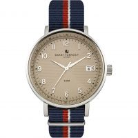 Herren Smart Turnout Scholar Watch Beige Royal Navy Watch STH3/BE/56/W-RN