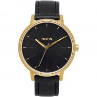 Nixon The Kensington Leather Damklocka Svart A108-513