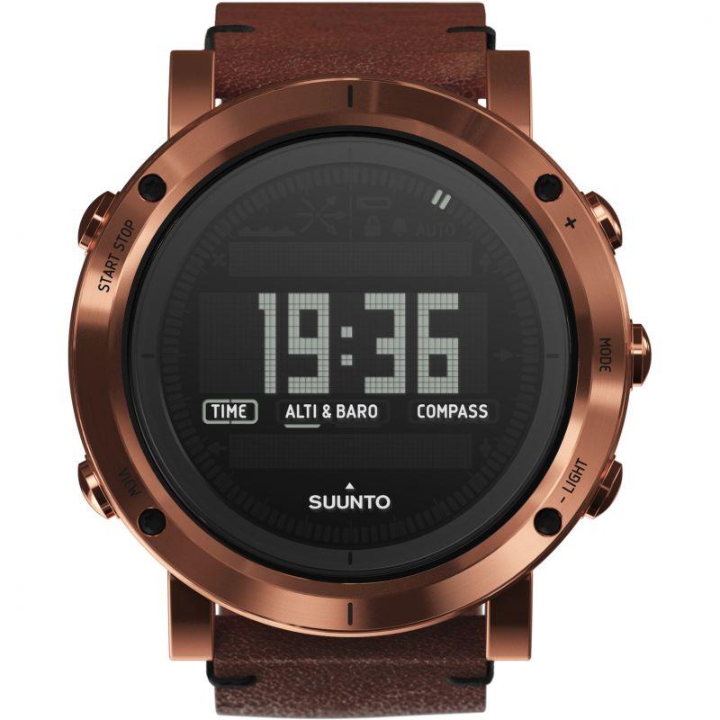 Mens Suunto Essential Altimeter Barometer Compass Alarm Chronograph Watch