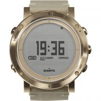 femme Suunto Essential Altimeter Barometer Compass Alarm Chronograph Watch SS021214000