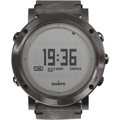 Mens Suunto Essential Altimeter Barometer Compass Alarm Chronograph Watch SS021216000