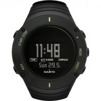 Suunto Core Ultimate Black Herenchronograaf Zwart SS021371000