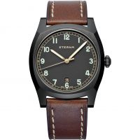 Eterna Limited Edition Heritage Military Herenhorloge Bruin 1939.43.46.1299