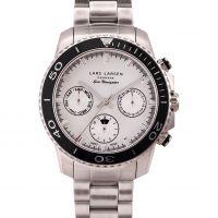Herren Lars Larsen Chronograph Watch 140SSCSB