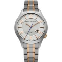 French Connection Herenhorloge Tweetonig FC1260SRGM