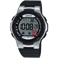 Mens Lorus Alarm Chronograph Watch