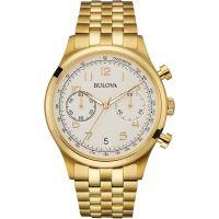 Herren Bulova Vintage Chronograf Uhr