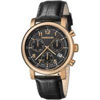 Herren Wenger Urban klassisch Chrono Chronograf Uhr