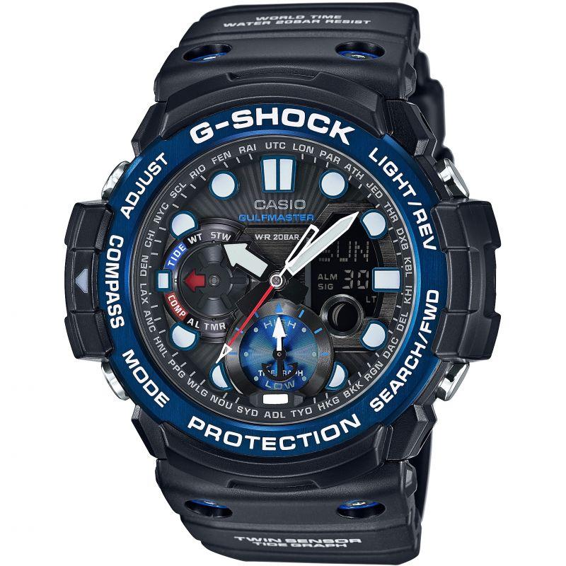Mens Casio G-Shock Gulfmaster Alarm Chronograph Watch