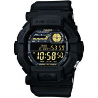 homme Casio G-Shock Vibrating Timer Alarm Chronograph Watch GD-350-1BER