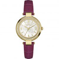 Damen Caravelle neu York T-Bar Uhr