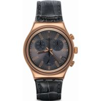 Herren Swatch Irony Chrono Chronograph Watch YCG411