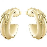Ladies Guess Gold Plated Earring UBE71539