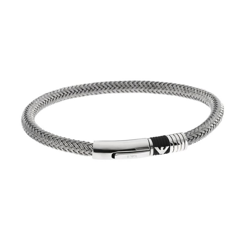 Mens Emporio Armani Stainless Steel Bracelet EGS1623040190