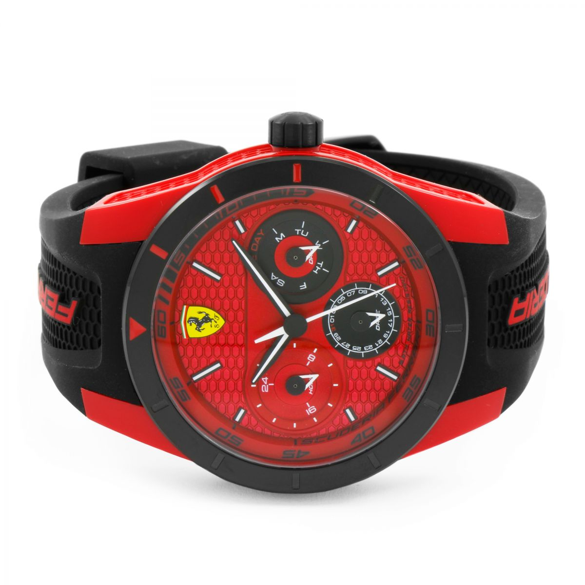 homme scuderia ferrari redrev t montre 0830255. Black Bedroom Furniture Sets. Home Design Ideas