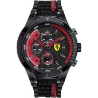 homme Scuderia Ferrari RedRev Evo Chronograph Watch 0830260
