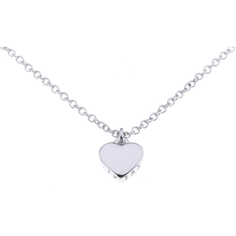 Ladies Ted Baker PVD Silver Plated Hara Tiny Heart Pendant Necklace TBJ1145-01-03