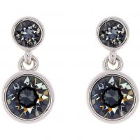 femme Karen Millen Jewellery Crystal Dot Earring Watch KMJ879-01-101