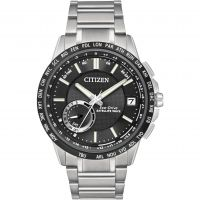 Hommes Citizen Satellite Vague-World Heure GPS Eco-Drive Montre