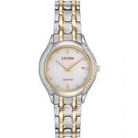 Femmes Citizen Silhouette Diamant Eco-Drive Montre
