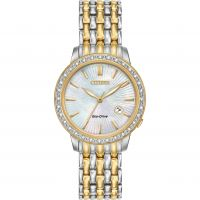 Ladies Citizen Silhouette Diamond Eco-Drive Watch