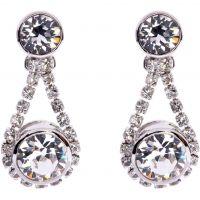 Ladies Ted Baker Stainless Steel Stormm Crystal Chain Earring TBJ833-01-02