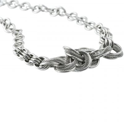SLOANE-NECKLACE-SILVER Bild 0