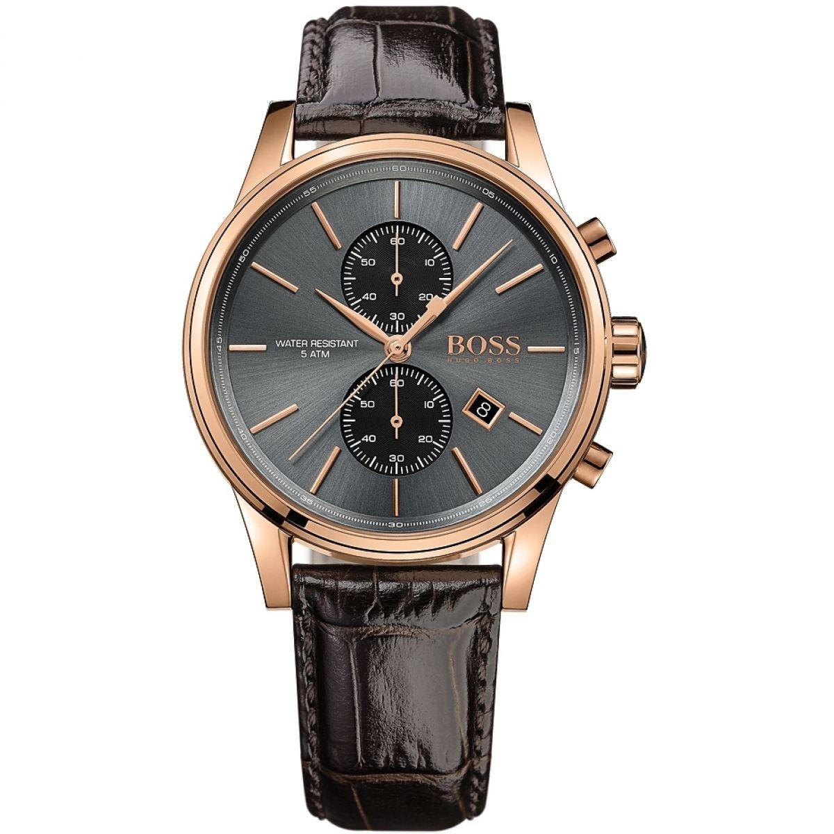 gents hugo boss jet chronograph watch 1513281. Black Bedroom Furniture Sets. Home Design Ideas