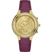 Damen Caravelle New York Boyfriend Chronograph Watch 44L182