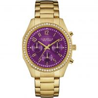 femme Caravelle New York Melissa Chronograph Watch 44L197