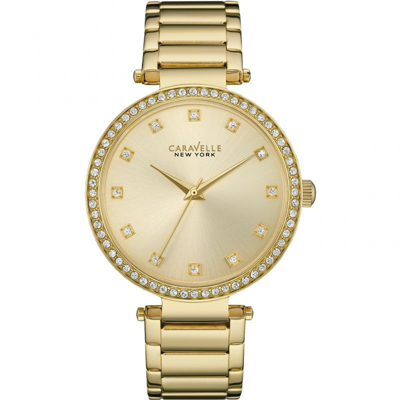 Ladies Caravelle New York T-Bar Watch 44L209