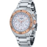 Mens Swiss Eagle Carrier Chronograph Watch SE-9072-33
