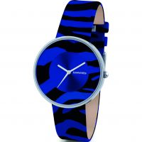 Damen Lambretta Cielo Zebra Watch 2109BLU