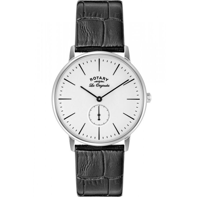 Mens Rotary Swiss Made Kensington Quartz Watch GS90050/02