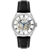 homme Rotary Vintage Mecanique Skeleton Watch GS02940/06