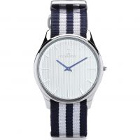 Unisex Kennett Kensington Watch KSILWHBLWHNATO