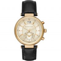 Damen Michael Kors Sawyer Chronograph Watch MK2433