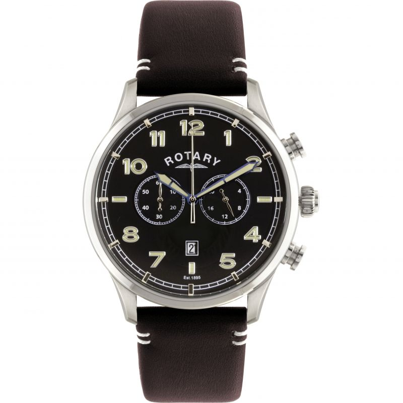 Mens Rotary Exclusive Chronograph Watch GS00482/04