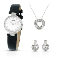 femme Rotary Exclusive Necklace Gift Set Watch LS00511/41/SET