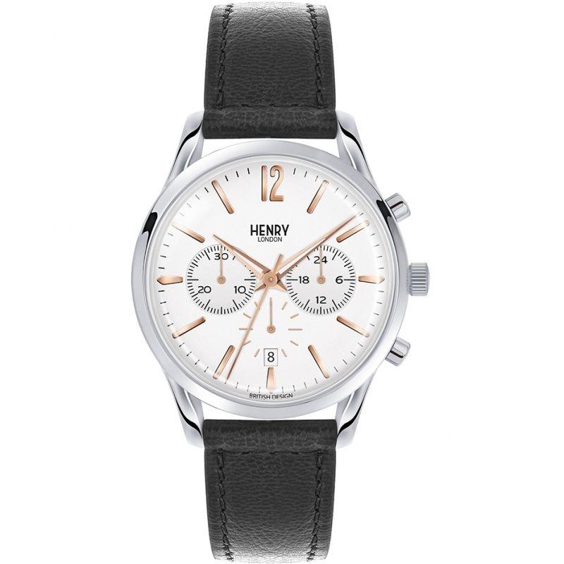 Unisex Henry London Heritage Highgate Chronograph Watch