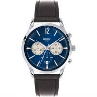 Henry London Heritage Knightsbridge Herenchronograaf Bruin HL41-CS-0039