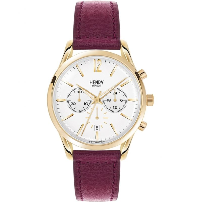 Unisex Henry London Heritage Holborn Chronograph Watch