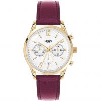Unisex Henry London Heritage Holborn Chronograph Watch HL39-CS-0070