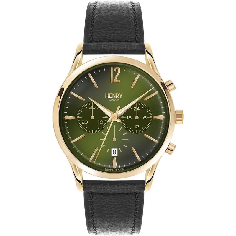 Mens Henry London Heritage Chiswick Chronograph Watch