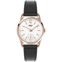 Henry London Heritage Richmond Dameshorloge Zwart HL30-US-0024