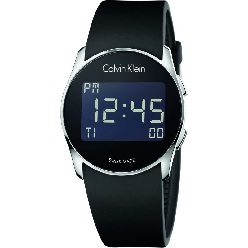 Mens Calvin Klein Future Alarm Watch