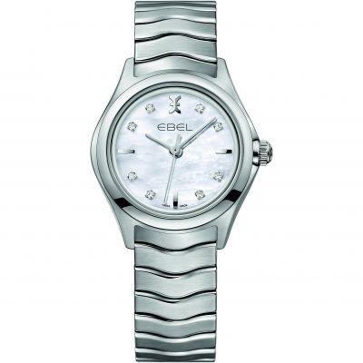 Ladies Ebel New Wave Diamond Watch 1216193