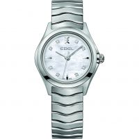 femme Ebel New Wave Diamond Watch 1216193